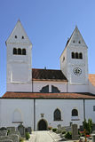 Welfenmuenster in Steingaden, Bavaria Royalty Free Stock Photography