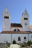 Welfenmuenster in Steingaden, Bayern Lizenzfreie Stockfotografie