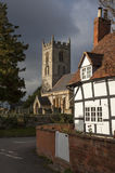 Welford on Avon village village Royalty Free Stock Image