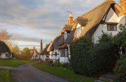 Welford on Avon village, Warwickshire, England Stock Image