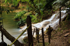 Welib-Ja Waterfalls Royalty Free Stock Photo