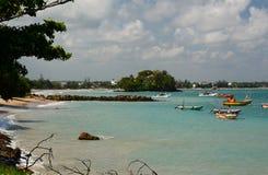 Weligama beach. Sri Lanka Royalty Free Stock Photo