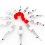 Welke geneeskunde te kiezen? Stock Foto's