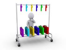 Welke kleur voor de baan te kiezen Stock Foto