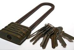 Welke sleutel? stock fotografie