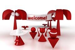 Welkom! Vector Illustratie
