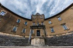 Well świątynia dea Fortuna Palestrina Fotografia Stock