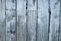 Well aged wooden planks - wall Royalty Free Stock Photos