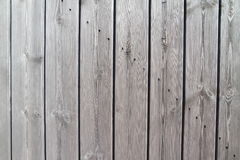 Well aged wooden planks - wall Royalty Free Stock Photography