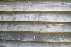 Well aged wooden planks - wall Stock Photo