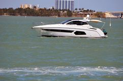 Well Appointed Cabin Cruiser Stock Photos