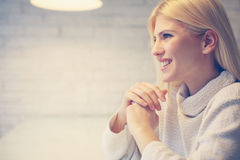 Well being woman. royalty free stock photography