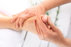 Well cared for feet Royalty Free Stock Photography