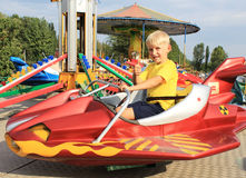 Well on the carousel Royalty Free Stock Images
