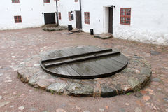 Well of castle Stock Photos