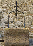 The well of castle. The well in castle of sirmione Stock Photo