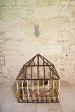 Well in the Citadel of Qaitbay. Dry well in the Citadel of Citadel of Qaitbay, Alexandria, Egypt Stock Photography