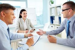 Well-coordinated work Royalty Free Stock Photo