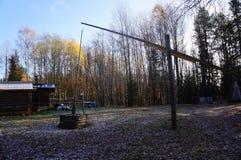 The well - crane. Stock Image
