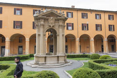 The well of desires in Bologna, Italy Royalty Free Stock Photography