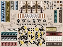 Greek Nature Vector Kit - Borders Frames Backgrounds & Elements. Well detailed illustration design for media, apps, print, or online. Available as an ornate Stock Photo