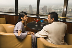 Free Well-Dressed Couple In Bar Royalty Free Stock Images - 12989879
