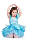 Well-dressed little girl Royalty Free Stock Photography