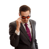 Well dressed male Royalty Free Stock Photography