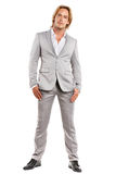 Well dressed man in nice suit Stock Photo