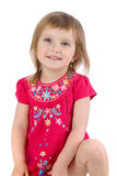 Well-dressed small girl Royalty Free Stock Photo