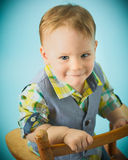 Well Dressed Toddler Boy stock image