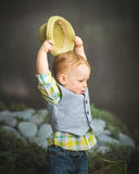 Well Dressed Toddler Boy royalty free stock photos