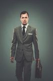 Well-dressed young businessman Royalty Free Stock Photo