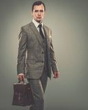 Well-dressed young businessman Stock Photo
