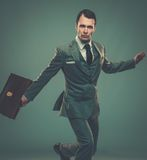 Well-dressed young businessman Royalty Free Stock Photography