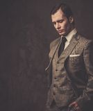 Well-dressed young businessman Stock Images