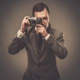 Well-dressed young businessman Stock Image