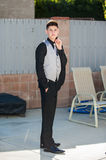 Well dressed young man Royalty Free Stock Photo
