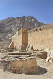 well för catherinesklostermoses st Fotografering för Bildbyråer