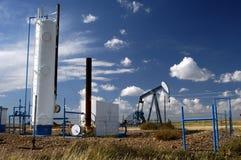 well för olja 23 Arkivbilder