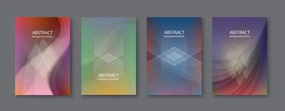 well för vektor för dräkter för abstrakt bakgrundsillustrationvykort set också vektor för coreldrawillustration vektor illustrationer