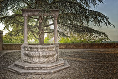 The well of the fortress Stock Photo