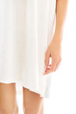 Well groomed female legs wrapped in towel Stock Photography