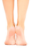 Well-groomed weiblicher Fuß Lizenzfreies Stockbild