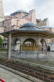 Well house at the Hagia Sophia, Istanbul, Turkey royalty free stock images