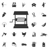 well icon. Element of farming and garden icons. Premium quality royalty free illustration