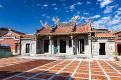 A well known ancestral hall in Pingtung, Taiwan. Pingtung City, Taiwan - January 6, 2015 : A well known ancestral hall in Pingtung, Taiwan Stock Photos
