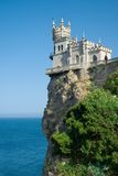 The well-known castle Swallow's Nest Royalty Free Stock Photo