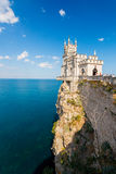 The well-known castle Swallow's Nest near Yalta Stock Photo