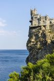 The well-known castle Swallow's Nest near Yalta Stock Image